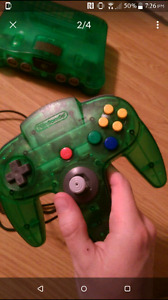 N64 system jungle green