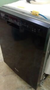 Black Newer Dishwasher