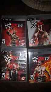 Wwe 2k 14 15 16 and 17 ps3