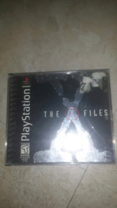X Files Playstation game