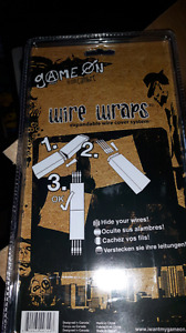 Game on wire wraps