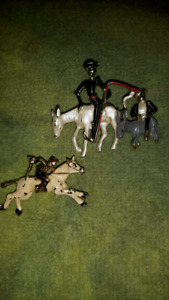 Two vintage Horse pins
