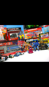 $$$paying cash for vintage action figures and toys