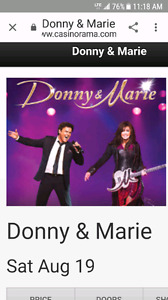 Donny and Marie at Rama