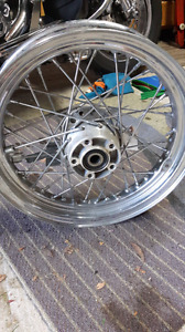 16 inch soft tail spoked wheel