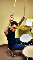 Drum lessons for beginners and advanced