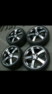 Mag Vossen 20pouces 5x120 staggered 20""