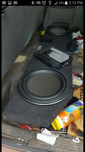 Looking to sell 2 12inch Kenwood subs