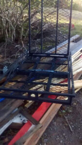 Hitch utility carrier