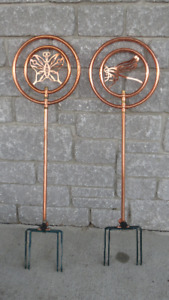 BRAND NEW/LIKE NEW COPPER WATER SPRINKLERS