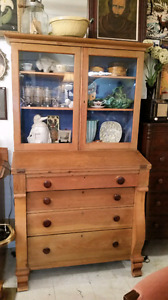 Empire Style Hutch/Cabinet/Desk