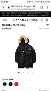 Authentic Canada Goose Resolute Jacket