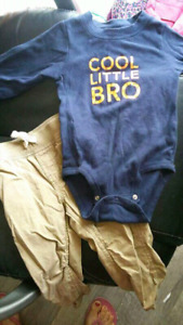 Carter's 18 month cool little Bro outfit $5