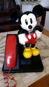 Disney Mickey mouse collectible phone