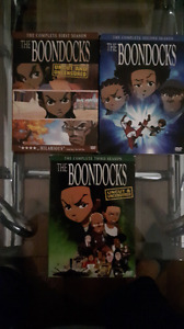 The Boondocks Complete DVD Collection Season 1 to Season 3