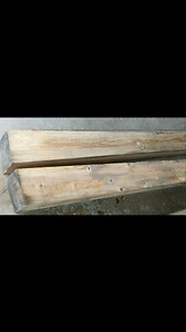 Rustic Hemlock Fireplace Mantel Beams!