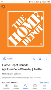 Home Depot card wanted