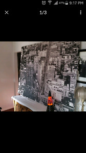 Large canvas Time Square