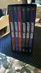 Set of Planet Of The Apes DVD's