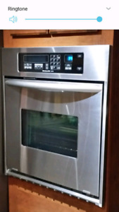 Wall convection ovn, gas stove top, samsung confection mircowave