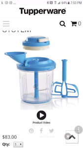 Tupperware PowerChef System - never used
