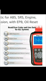 Vehicle Diagnostics Fault Code Reader / Fault Code Clearer