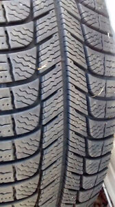 4 Tires on Rims (215 70R 15)  michelin x-ice winter