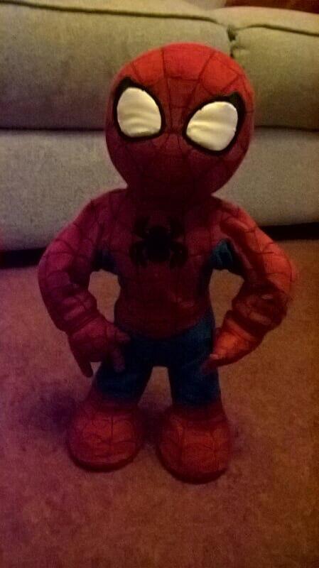 Singing Spiderman