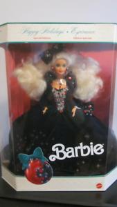 1991 Special Edition Happy Holidays Mattel # 1871