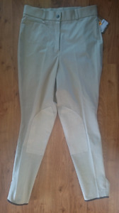 NWT Trainer's Choice Cotton Knee Patch Breeches