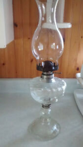 2 Table lamps for sale/Oil lamp