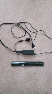 Dell laptop battery and charger