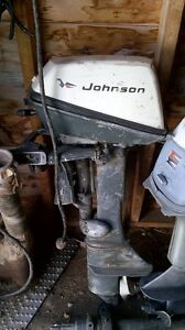 6 HP Outboard Johnson Motor