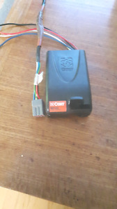 Electric Brake Controller with factory ford plug adapter.