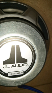 """2 12"""" Subs/Ported box/wiring/amp"""