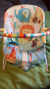 Baby Bouncy Chair with Vibration feature.
