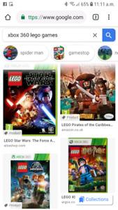 Bonjour  je cherche  jeux  de Xbox 360 lego  pas cher