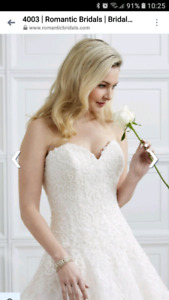 Romantic Bridals - hearts desire gown