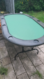 9 seater poker table
