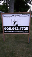 Dunnville window cleaning