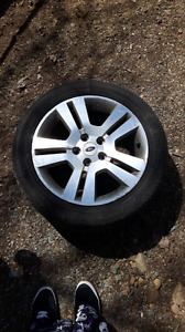 """WANTED: 17"""" rim for 2007 ford fusion"""