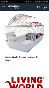 Living world deluxe cage