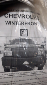 Weather front for GMC Chevrolet Duramax 2500