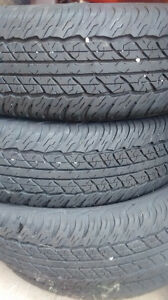 P245/75/16 Dunlop AT/2 would be good for winter REDUCED