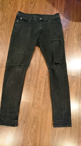Skinny jeans, Tight fit size 30x30 -  cheap Monday and Zara