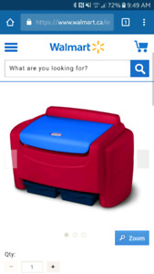 Wanted - little tikes plastic toy box