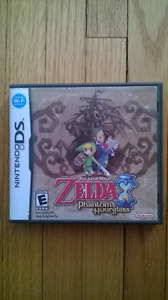 The Legend of Zelda: Phantom Hourglass with NFR case.