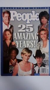 25 Amazing Years Colour Photos People Weekly Anniversary 1999