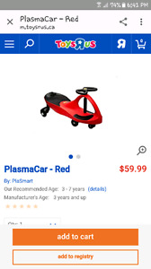 2 Plasma cars (1red and 1blue)35$each