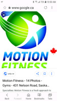 Motion fitness contract transfer